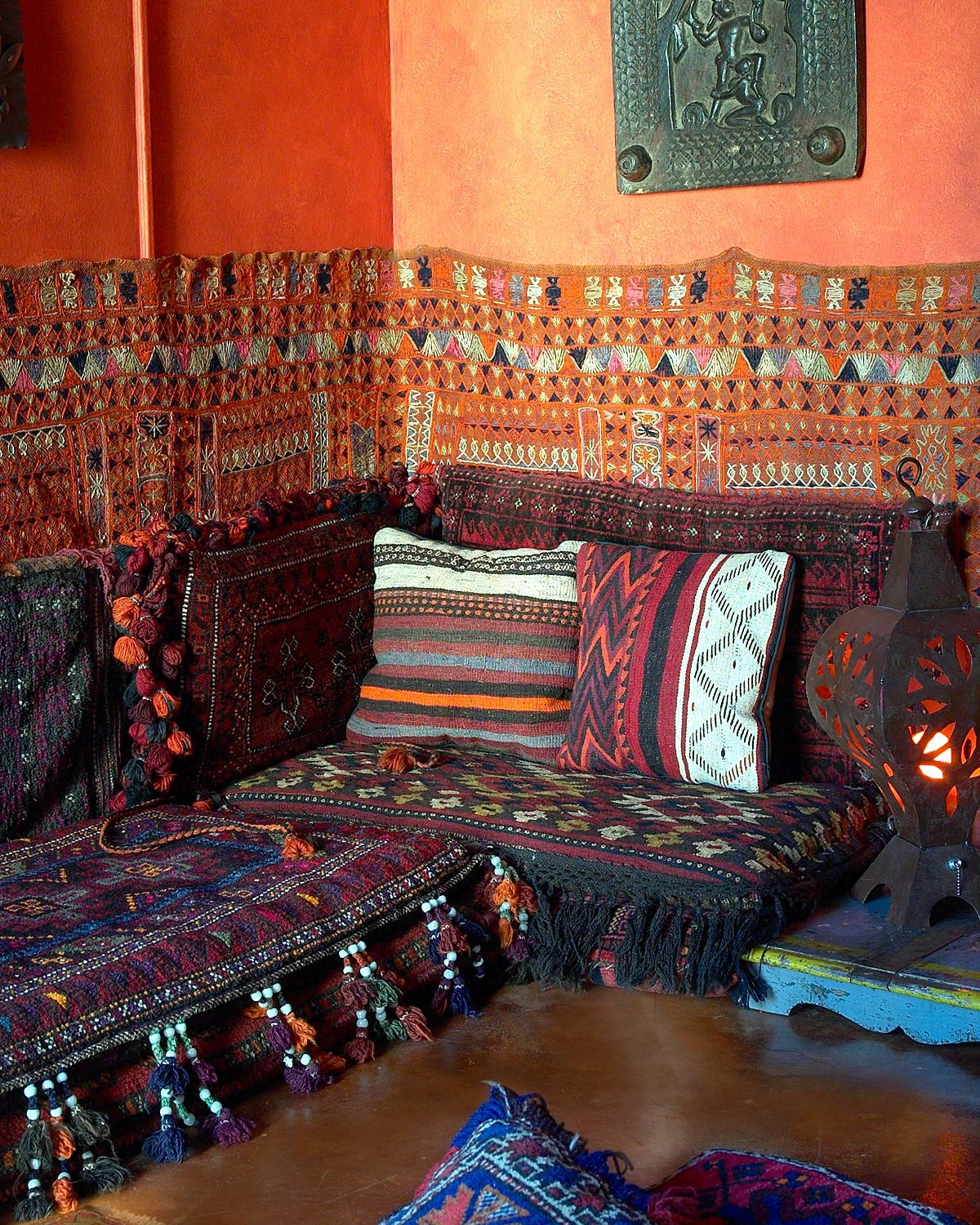 Moroccan Arabian Floor Seating Not In Morocco But The Figueroa Pertaining To Moroccan Floor Seating (Image 10 of 15)