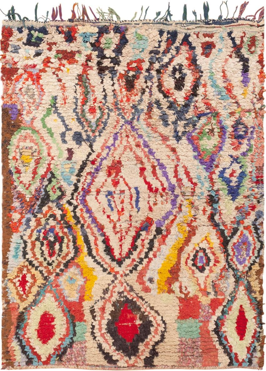 Moroccan Rug Vintage Moroccan Carpet 45837 Nazmiyal Throughout Moroccan Rugs (Image 6 of 15)