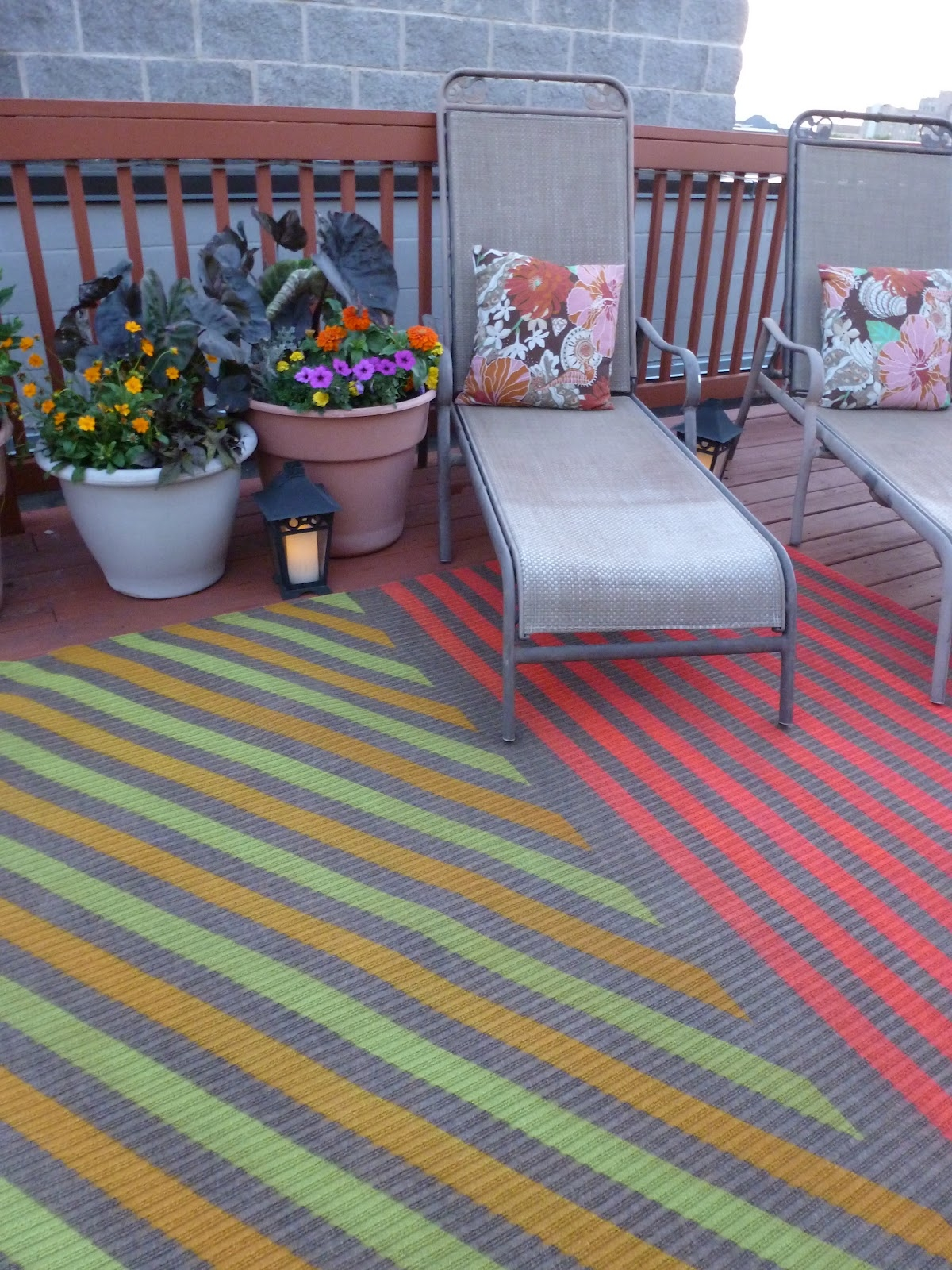 My Insanely Awesome Diy Outdoor Rug Design Improvised Within Outdoor Rugs For Deck (View 12 of 15)