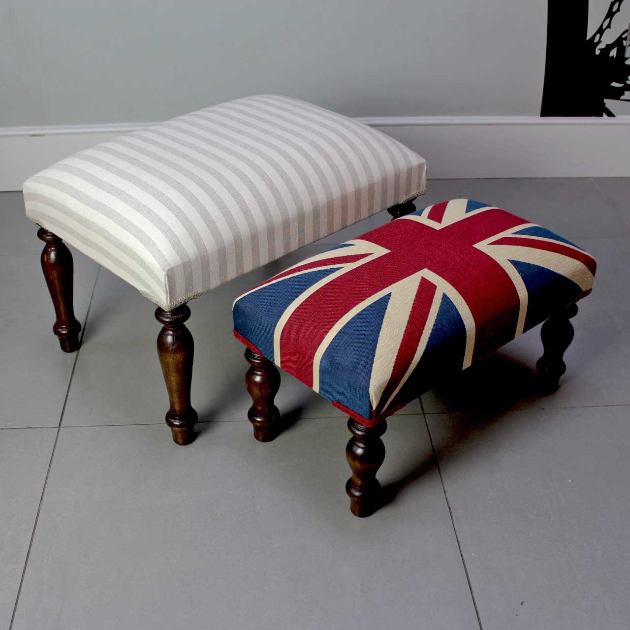 Featured Image of Upholstered Footstools
