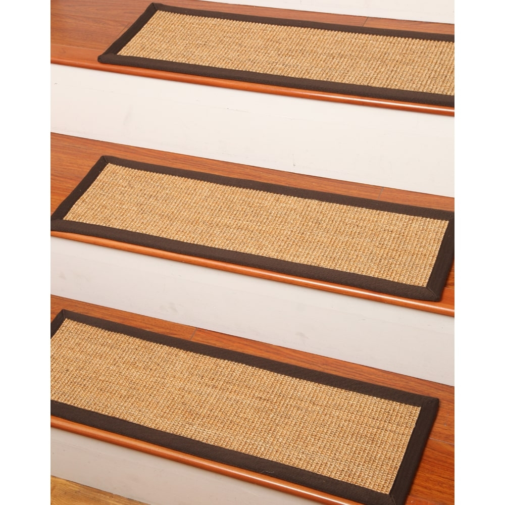 Natural Area Rugs Montreal Sisal Carpet Stair Treads 9 X 29 For Carpet Stair Treads And Rugs 9× (Image 10 of 15)