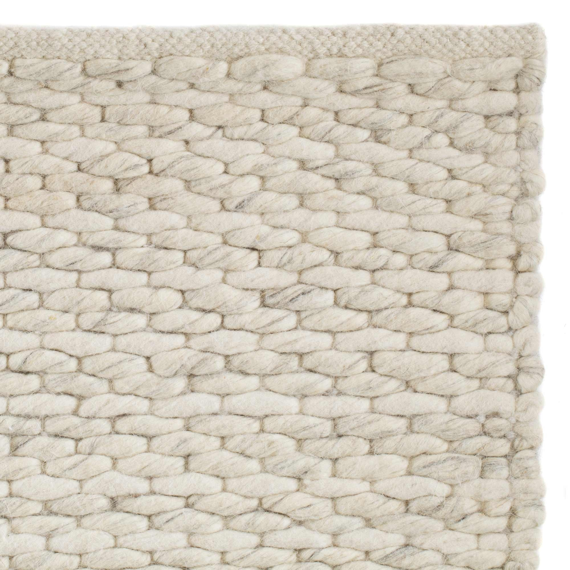 Natural Cream Wool Cotton Rug Romo Within Cream Rugs (Image 14 of 15)