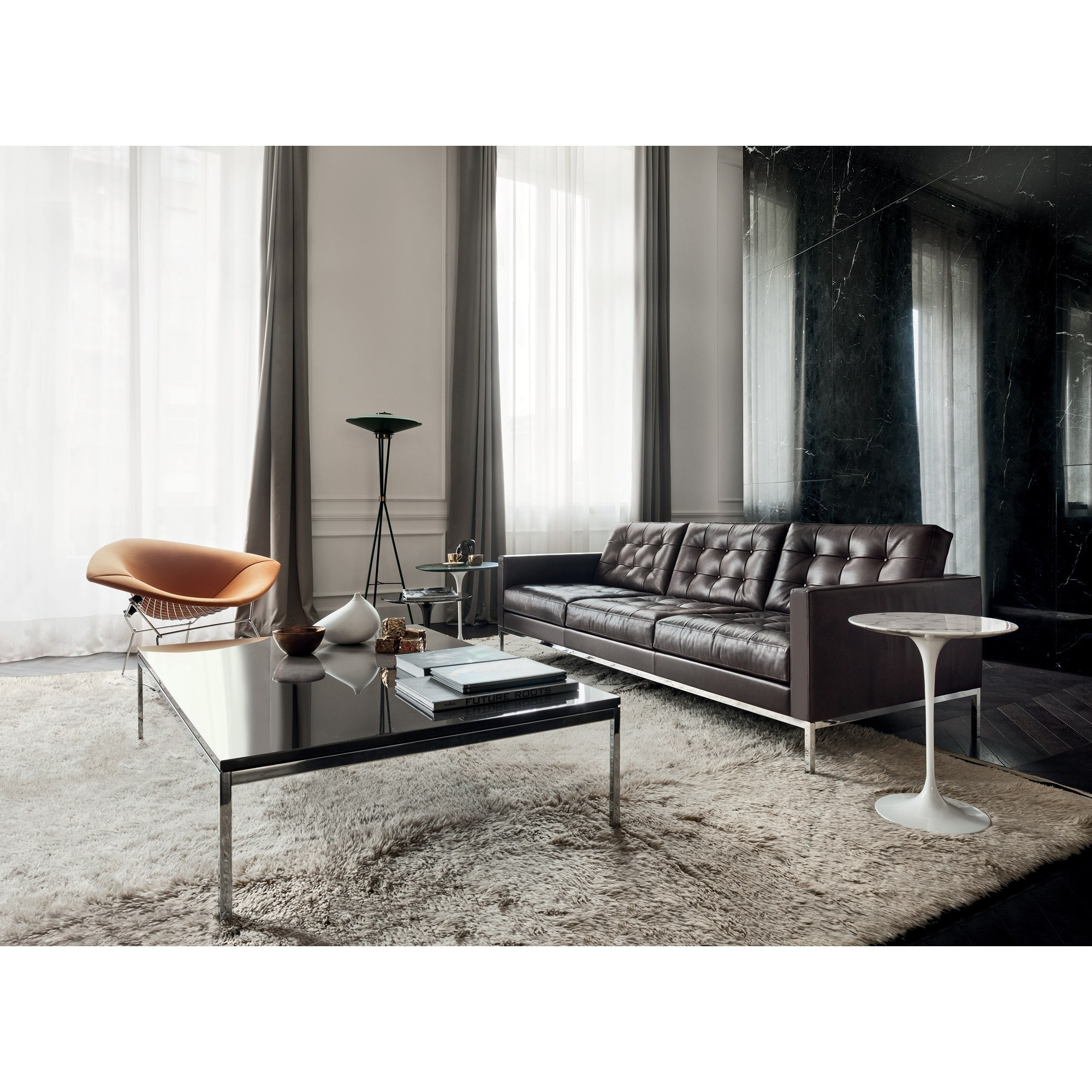 Natuzzi Editions Florence Leather Sofa Reviews Rs Gold Sofa Within Florence Knoll Leather Sofas (Image 8 of 15)