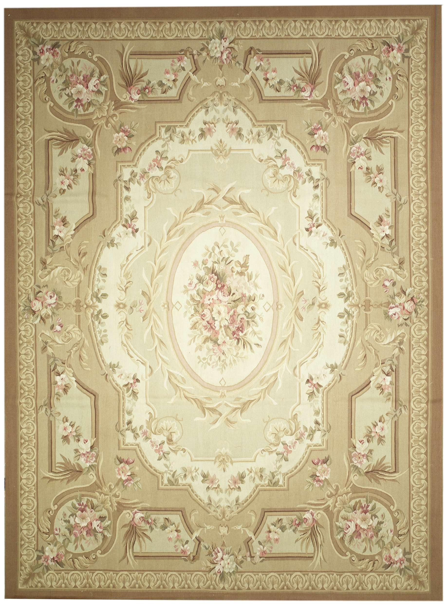 New Contemporary European Aubussan Area Rug 51693 Intended For European Rugs (Image 14 of 15)