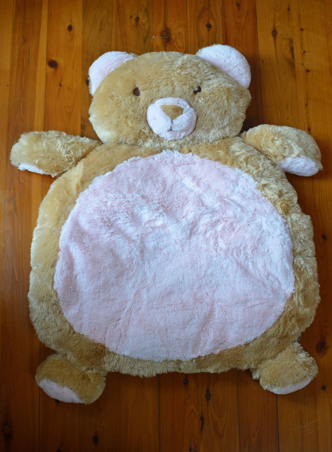 New Large Teddy Bear Rug Mat Newborn Ba Shower Gift Girl Boy For Teddy Bear Rugs (Image 9 of 15)