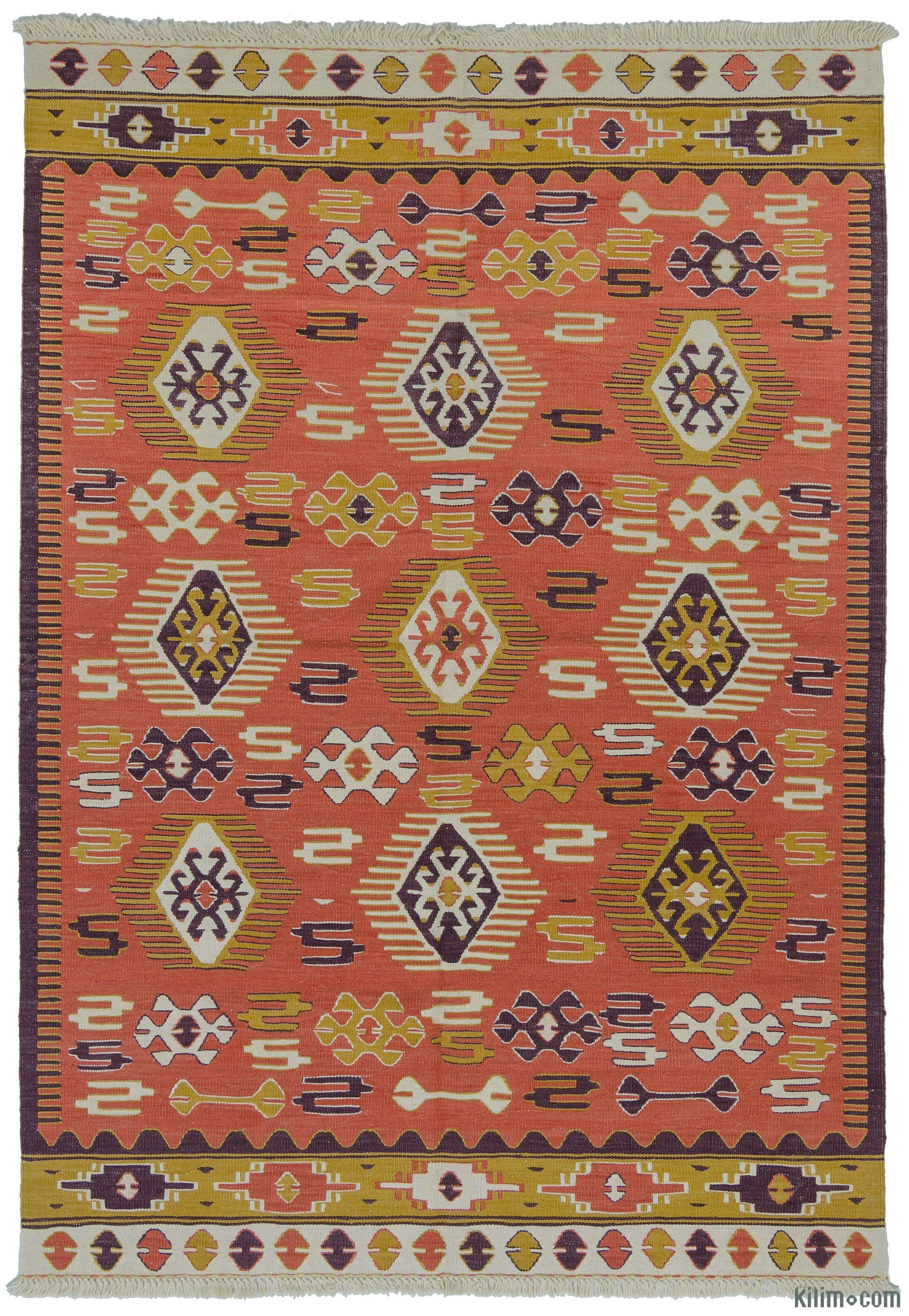 New Rugs Kilim Rugs Overdyed Vintage Rugs Hand Made Turkish For Turkish Kilim Rugs (Image 9 of 15)