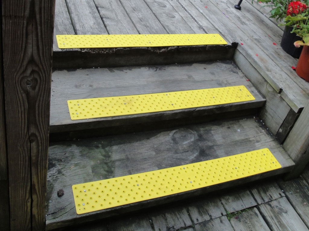 Non Slip Stair Treads Handiramp Throughout Traction Pads For Stairs (Image 9 of 15)