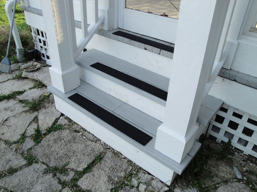 Non Slip Stair Treads Handiramp Within Traction Pads For Stairs (Image 11 of 15)