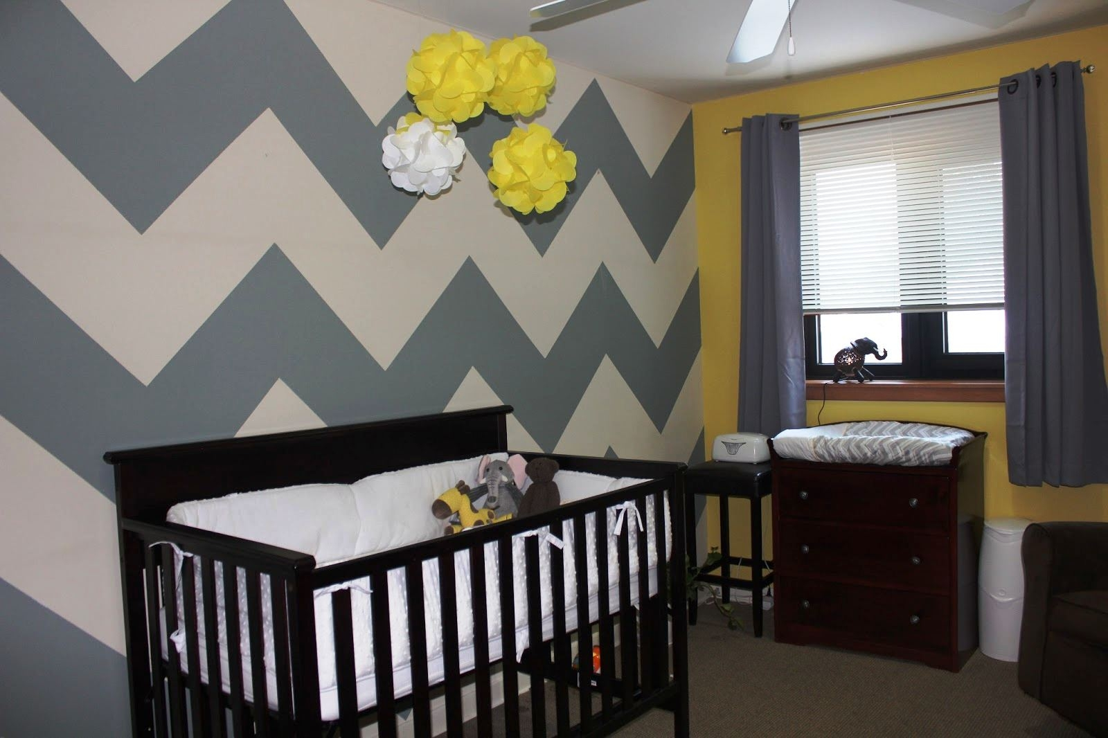 Nursery Enchanting Nursery Decorating Ideas With Blackout Pertaining To Blackout Curtains For Baby Room (Image 21 of 25)