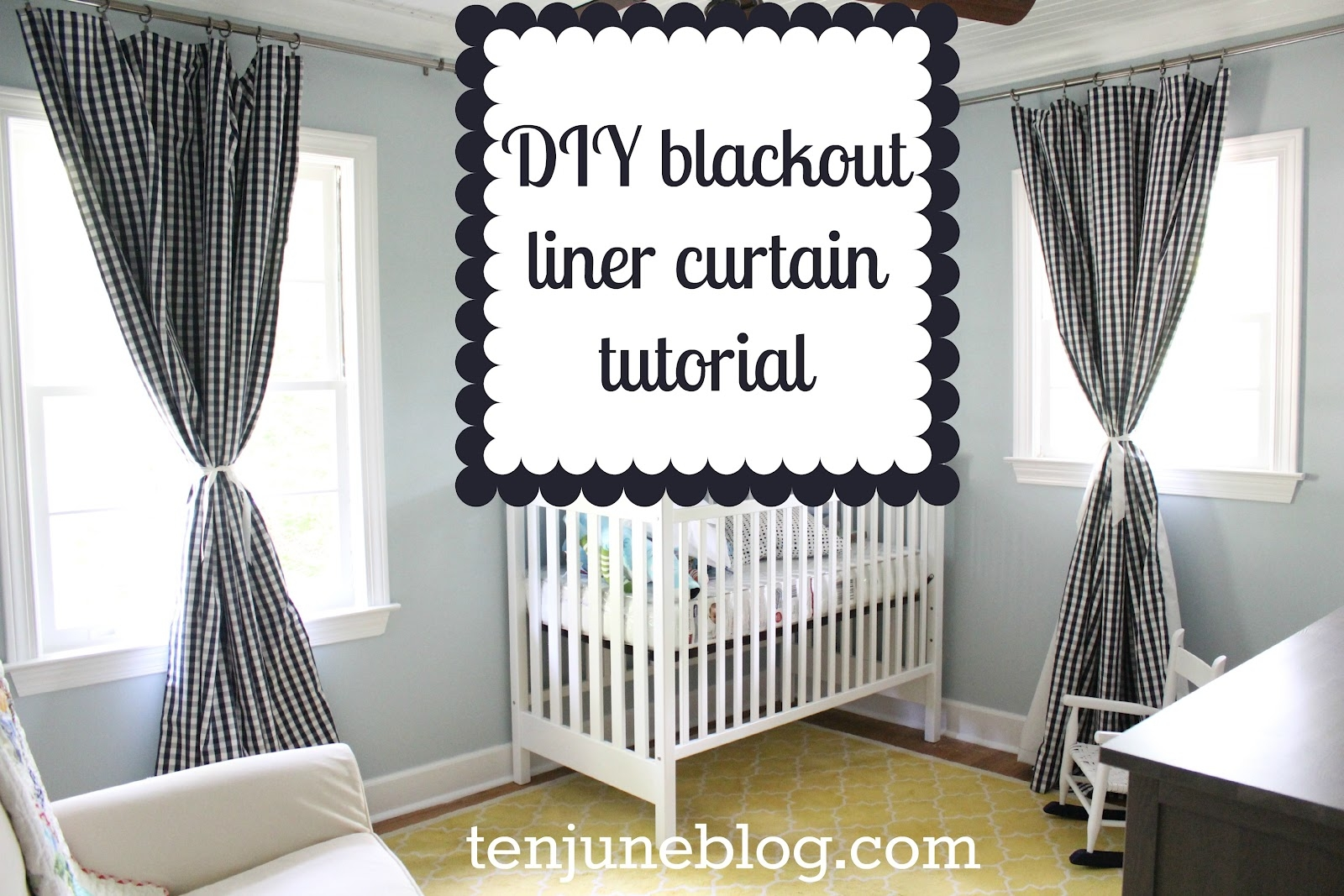 Nursery Enchanting Nursery Decorating Ideas With Blackout Pertaining To Blackout Curtains For Baby Room (Image 20 of 25)