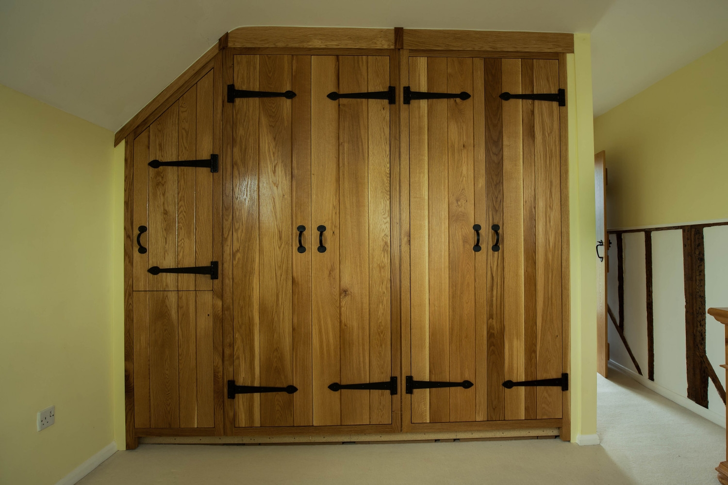 Oak Fitted Bedroom Furniture Raya Furniture With Fitted Wooden Wardrobes (Image 14 of 15)