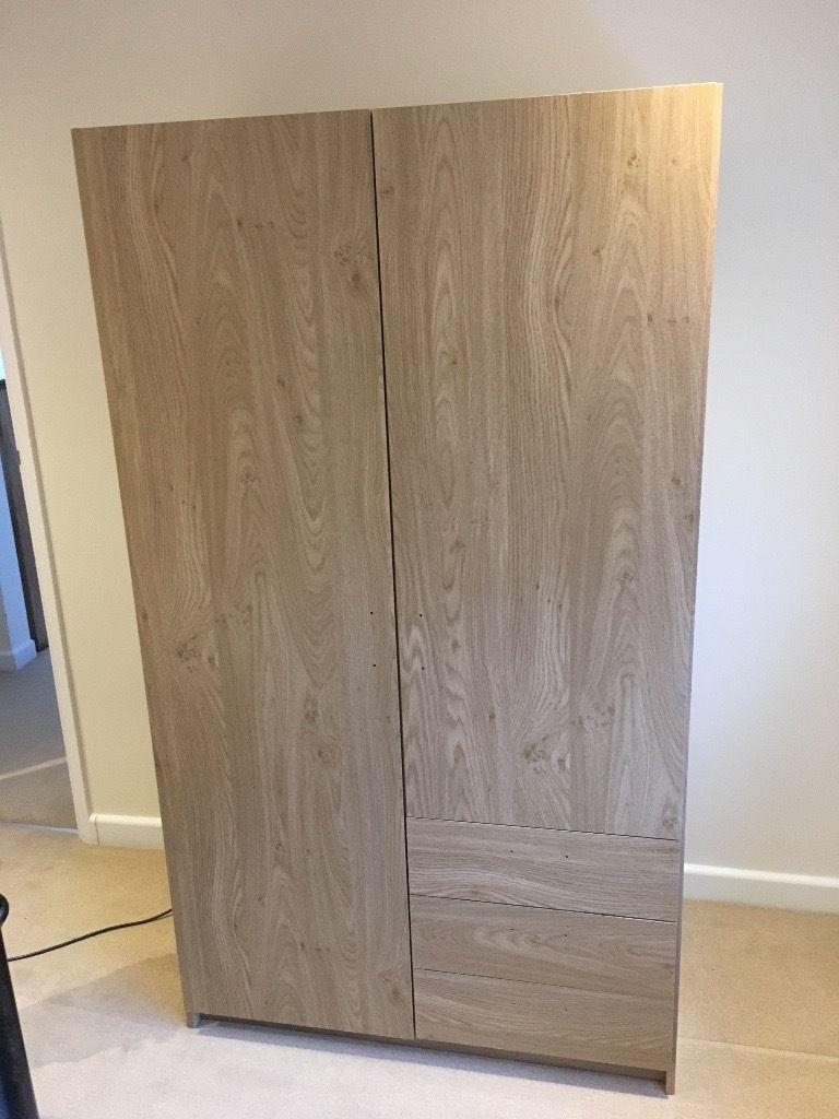 Oak Veneer Wardrobe With Shelves In St Albans Hertfordshire With Wardrobe With Shelves (View 21 of 25)