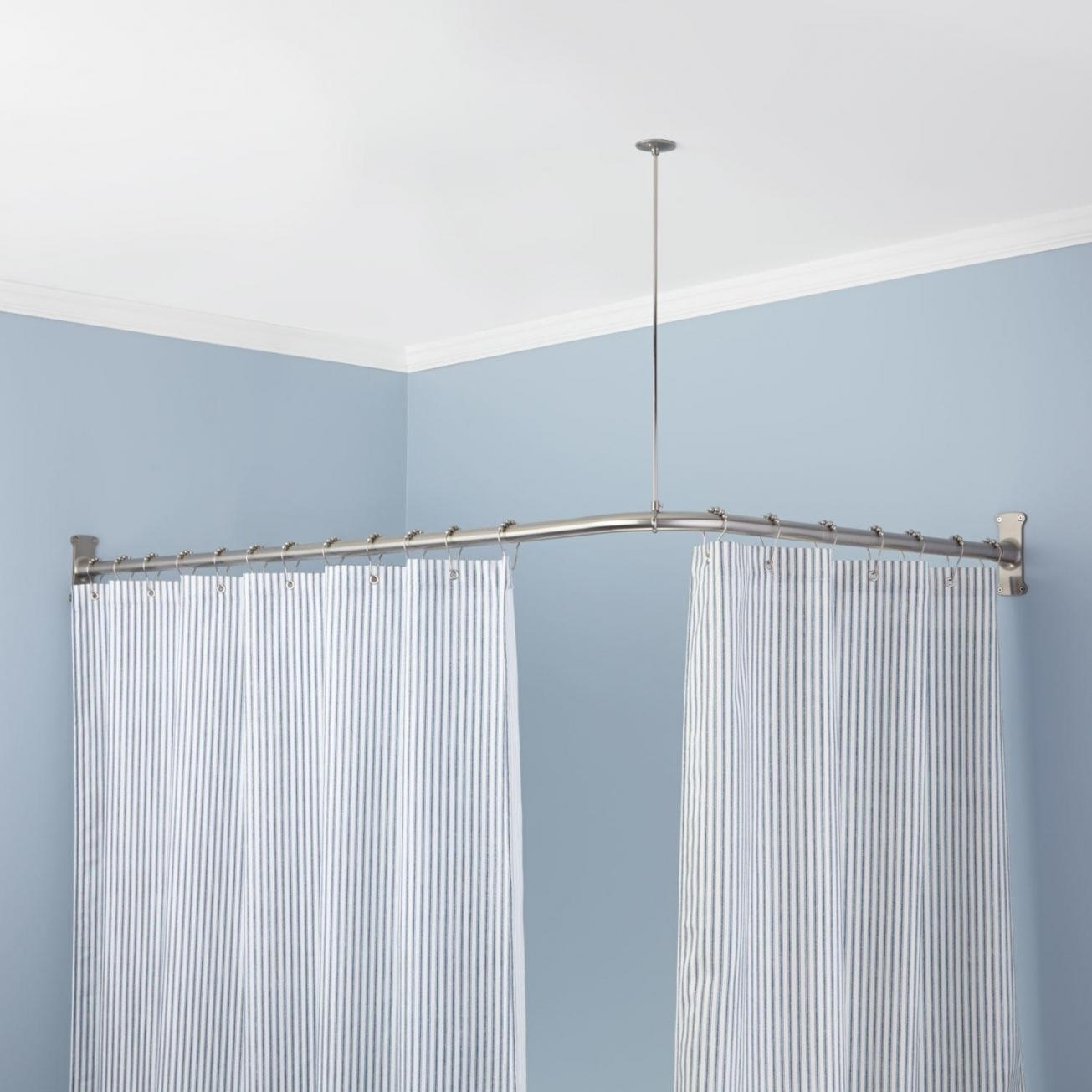 Odd Shaped Shower Curtain Rods Cgoioc Site Cgoioc Site For Odd Shower Curtains (Image 19 of 25)
