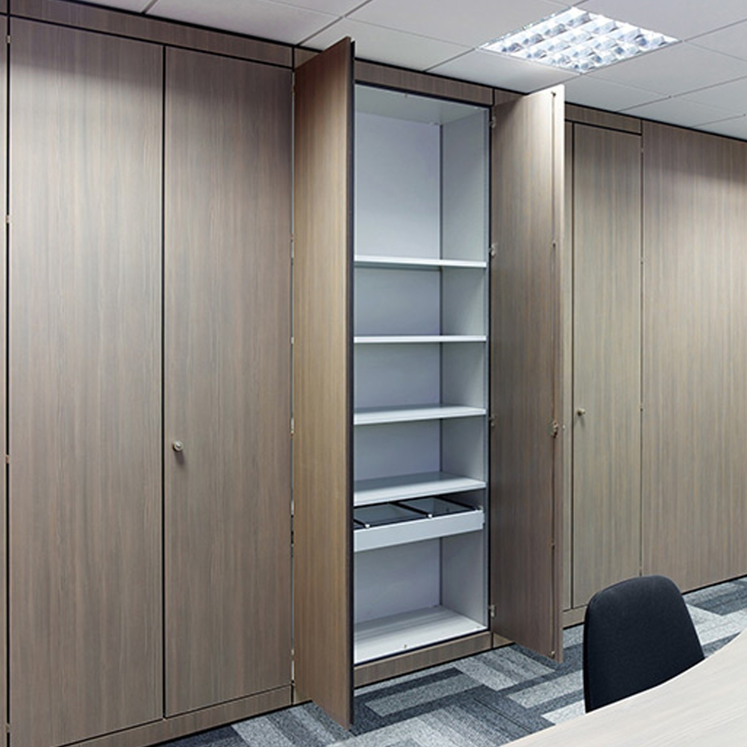 Office Storage Wall Office Cupboards Storage Apres Furniture With Regard To Wall Cupboards (Image 10 of 15)