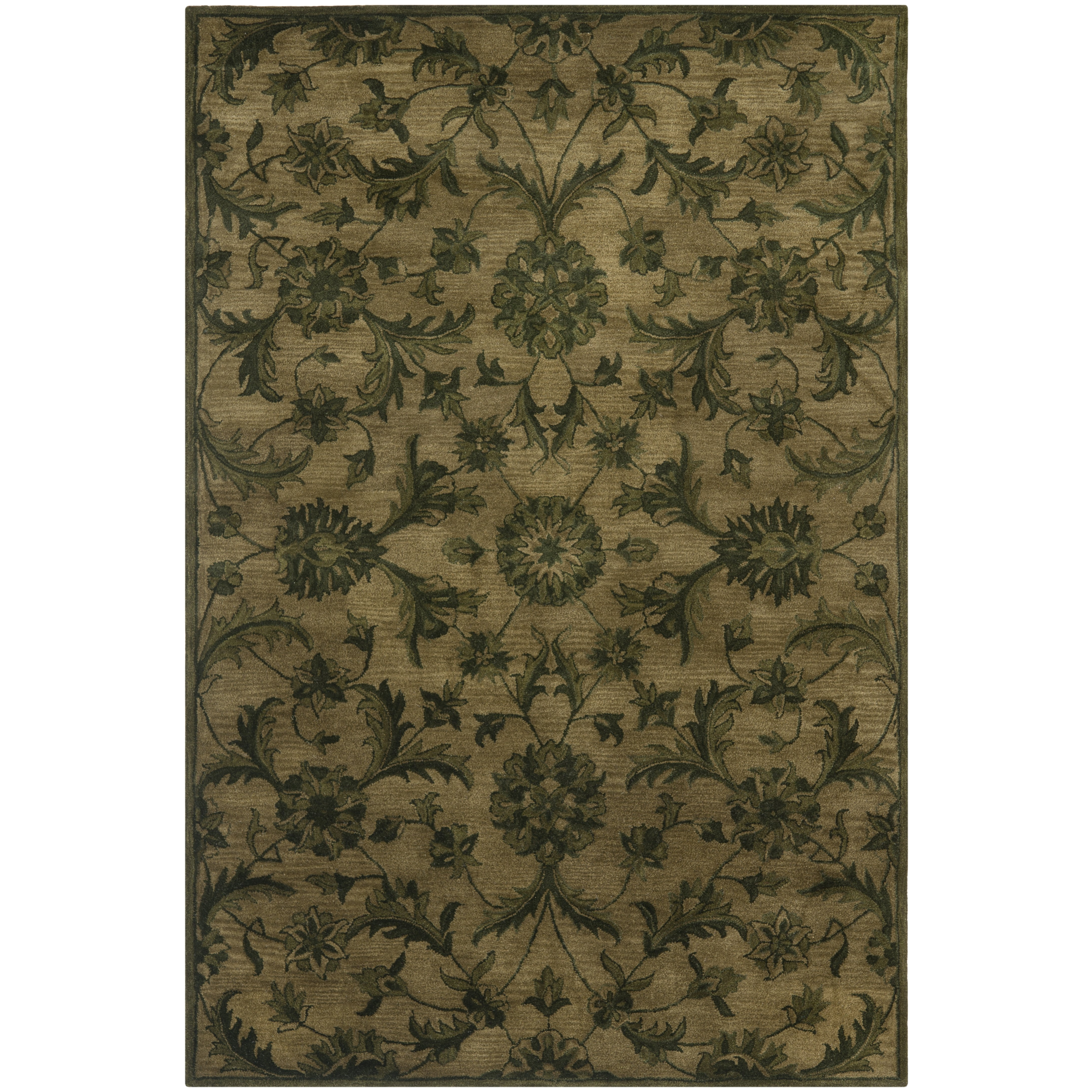 Olive Green Area Rugs Roselawnlutheran Within Olive Green Rugs (Image 8 of 15)