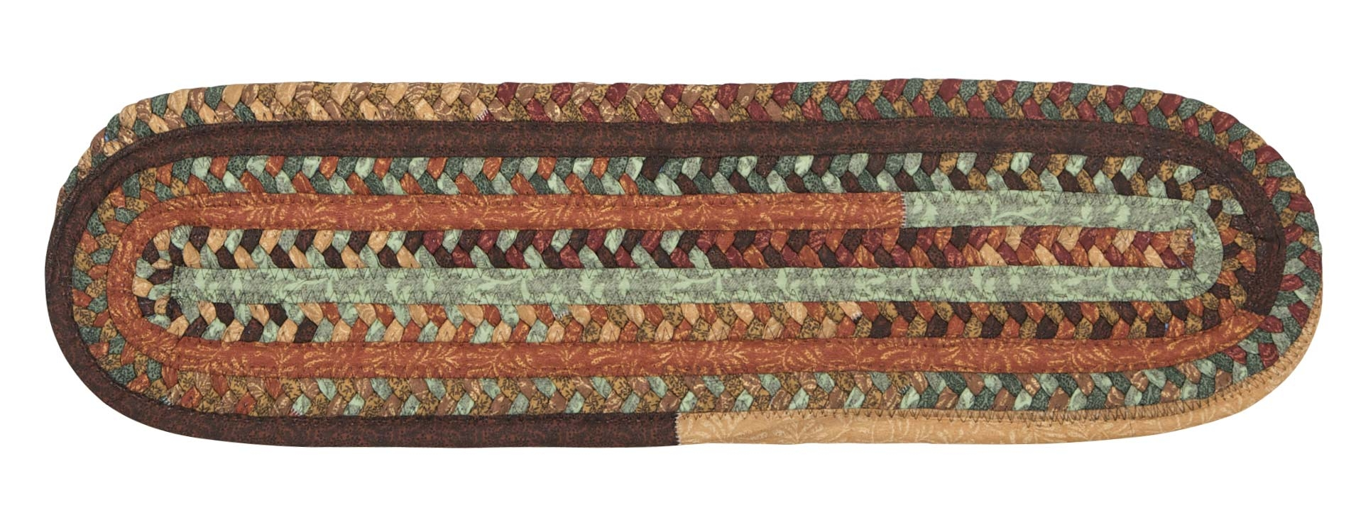 Olivera Stair Treads Colonial Mills Cmi Braided Rugs Outdoor Regarding Stair Treads Braided Rugs (Image 11 of 15)