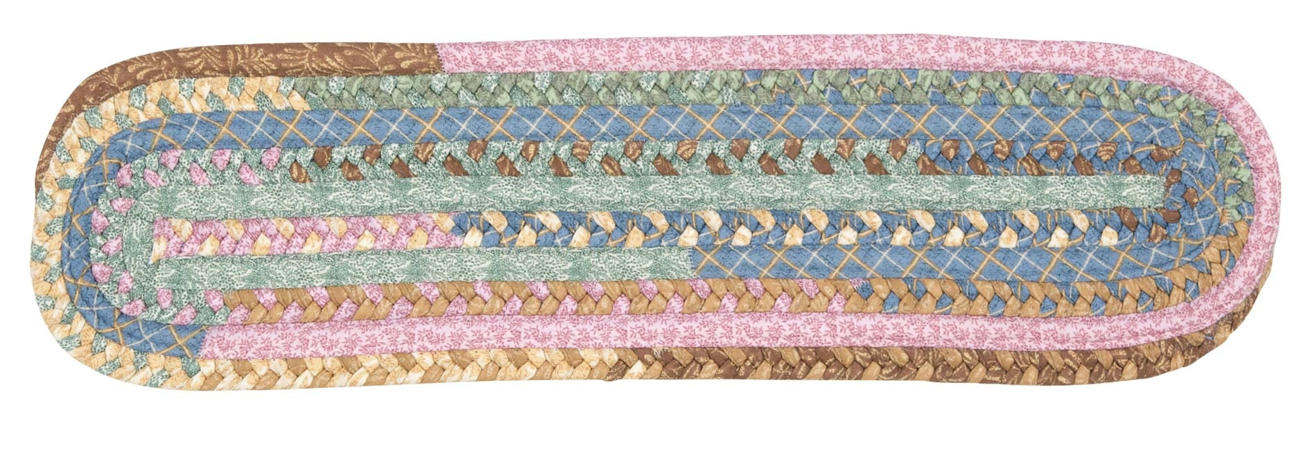 Olivera Stair Treads Colonial Mills Cmi Braided Rugs Outdoor With Braided Rug Stair Treads (Image 9 of 15)