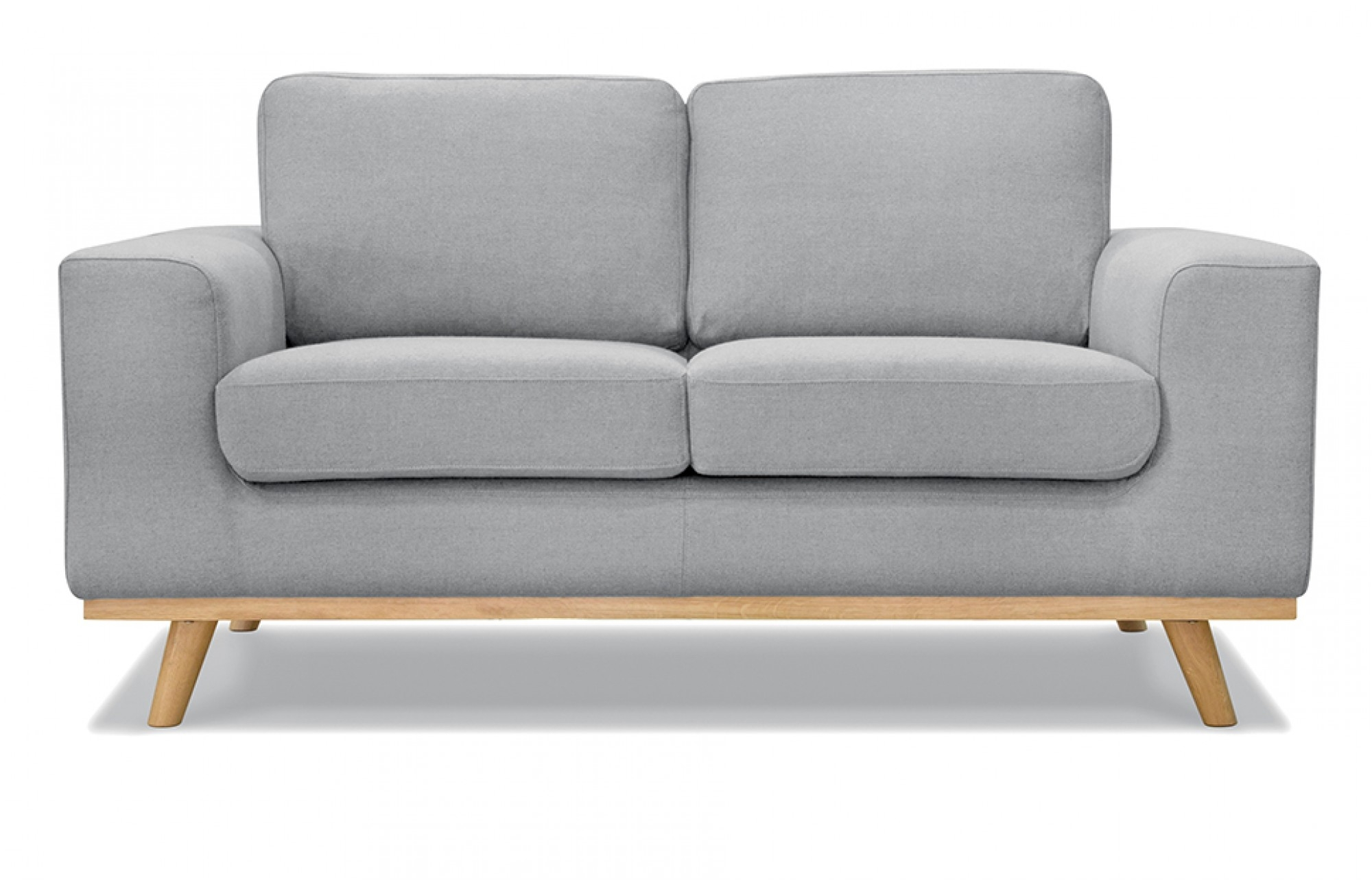 Olivia 2 Seater Sofa In Grey Out And Out Original Pertaining To 2 Seater Sofas (Image 11 of 15)