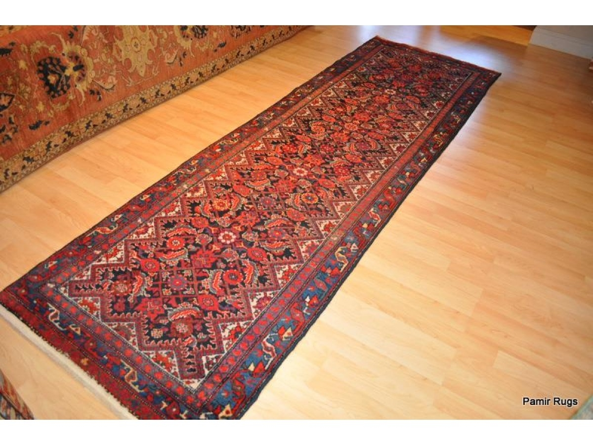On Sale For Only 1250 Authentic Persian Hall Runner Red And For Wool Hall Runners (Image 14 of 15)