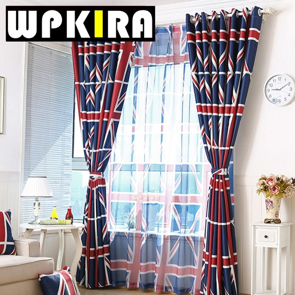 Online Get Cheap Blackout Curtains Uk Aliexpress Alibaba Group Within Patterned Blackout Curtains (View 10 of 25)