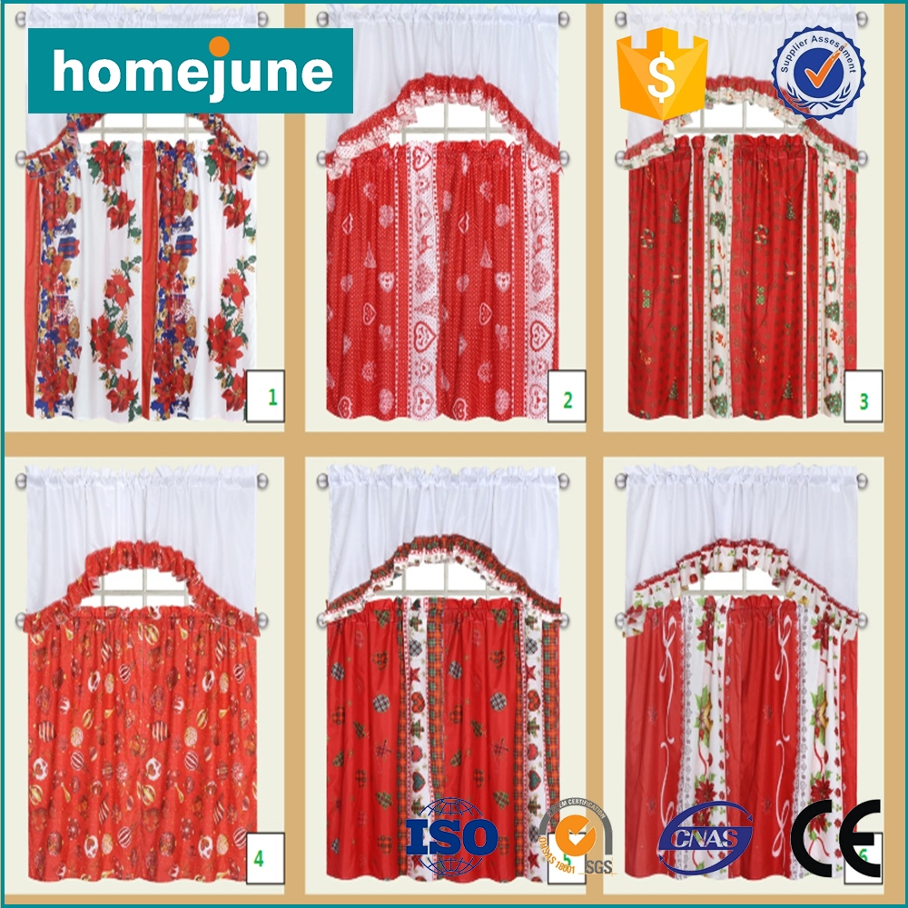 Online Get Cheap Christmas Kitchen Curtains Aliexpress With Very Cheap Curtains (View 21 of 25)