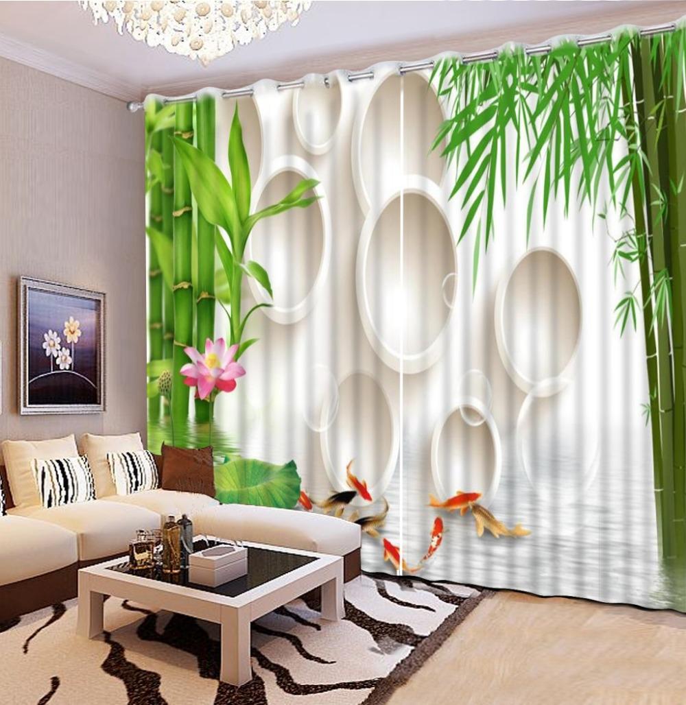 Online Get Cheap Custom Bamboo Curtains Aliexpress Alibaba Regarding Cheap Custom Curtains (Image 10 of 25)
