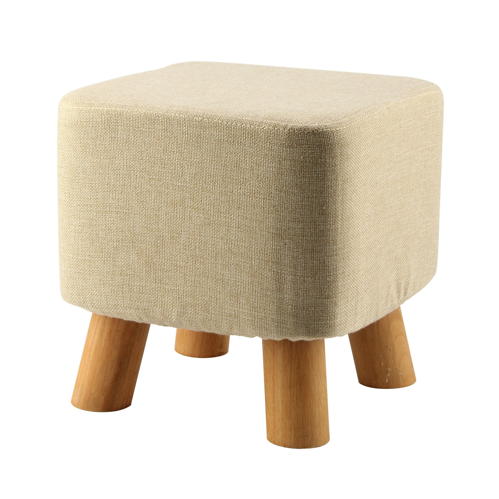 Online Get Cheap Footstool Wooden Aliexpress Alibaba Group With Cheap Footstools And Pouffes (Photo 3 of 15)