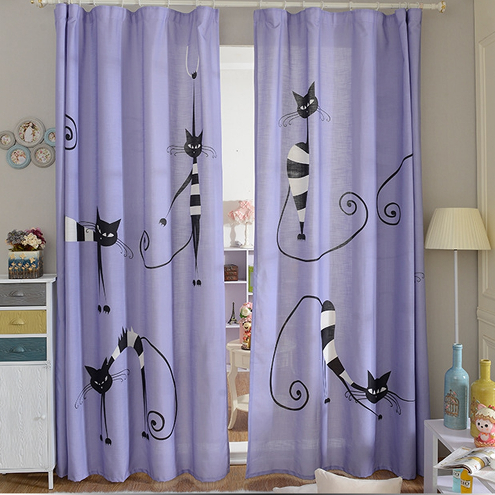 Online Get Cheap Kids Purple Curtains Aliexpress Alibaba Group In Purple Curtains For Kids Room (Image 19 of 25)