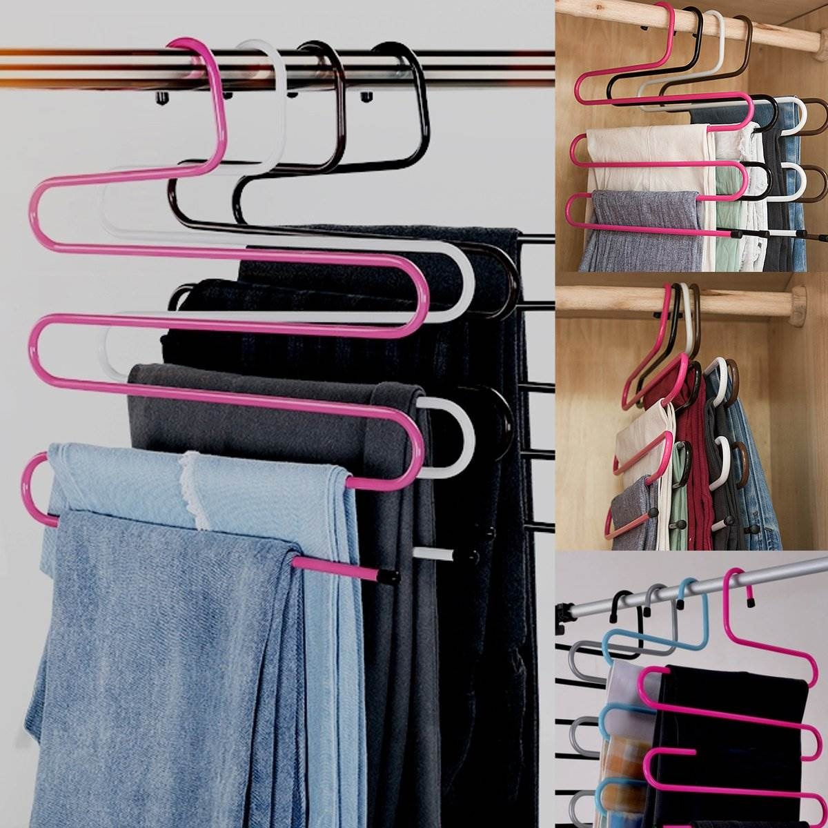 Online Get Cheap Metal Wardrobe Storage Aliexpress Alibaba For Wardrobe Hangers Storages (Image 23 of 25)