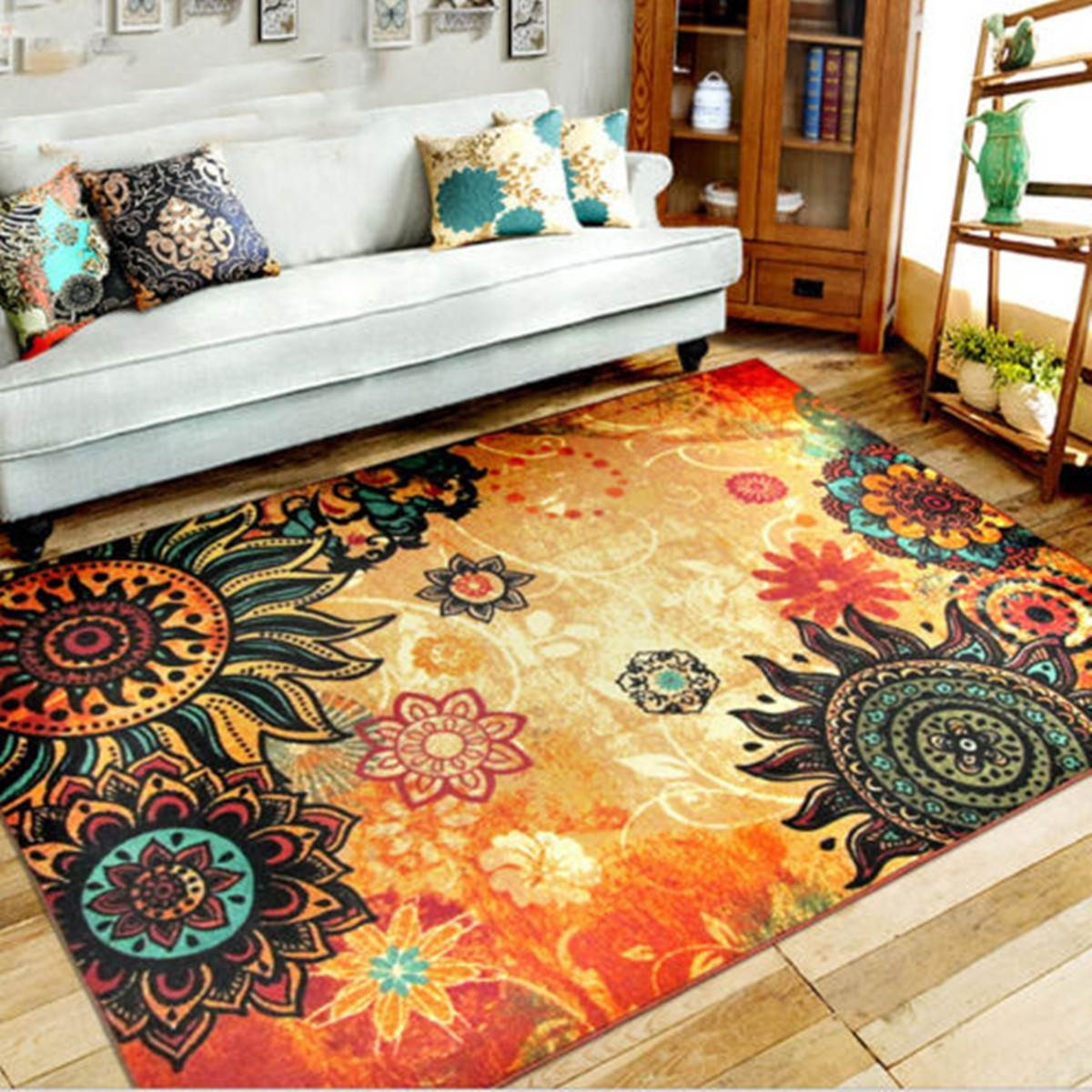 Online Get Cheap Retro Rugs Aliexpress Alibaba Group Intended For Retro Rugs (Image 6 of 15)
