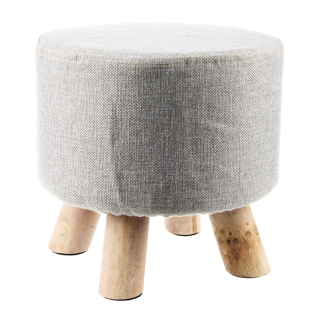 Online Get Cheap Round Fabric Ottomans Aliexpress Alibaba Group Pertaining To Fabric Footstools And Pouffes (Image 12 of 15)