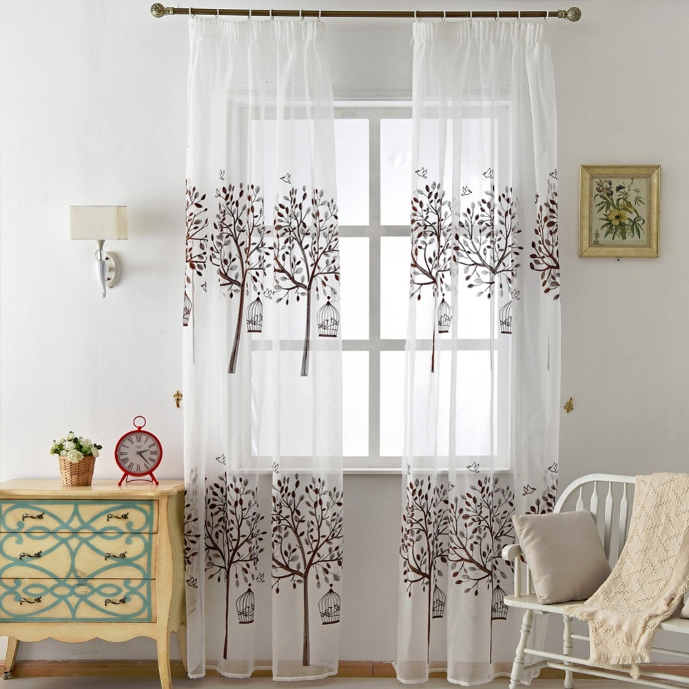 Online Get Cheap Short Brown Curtains Aliexpress Alibaba Group With Regard To Short Brown Curtains (Image 18 of 25)