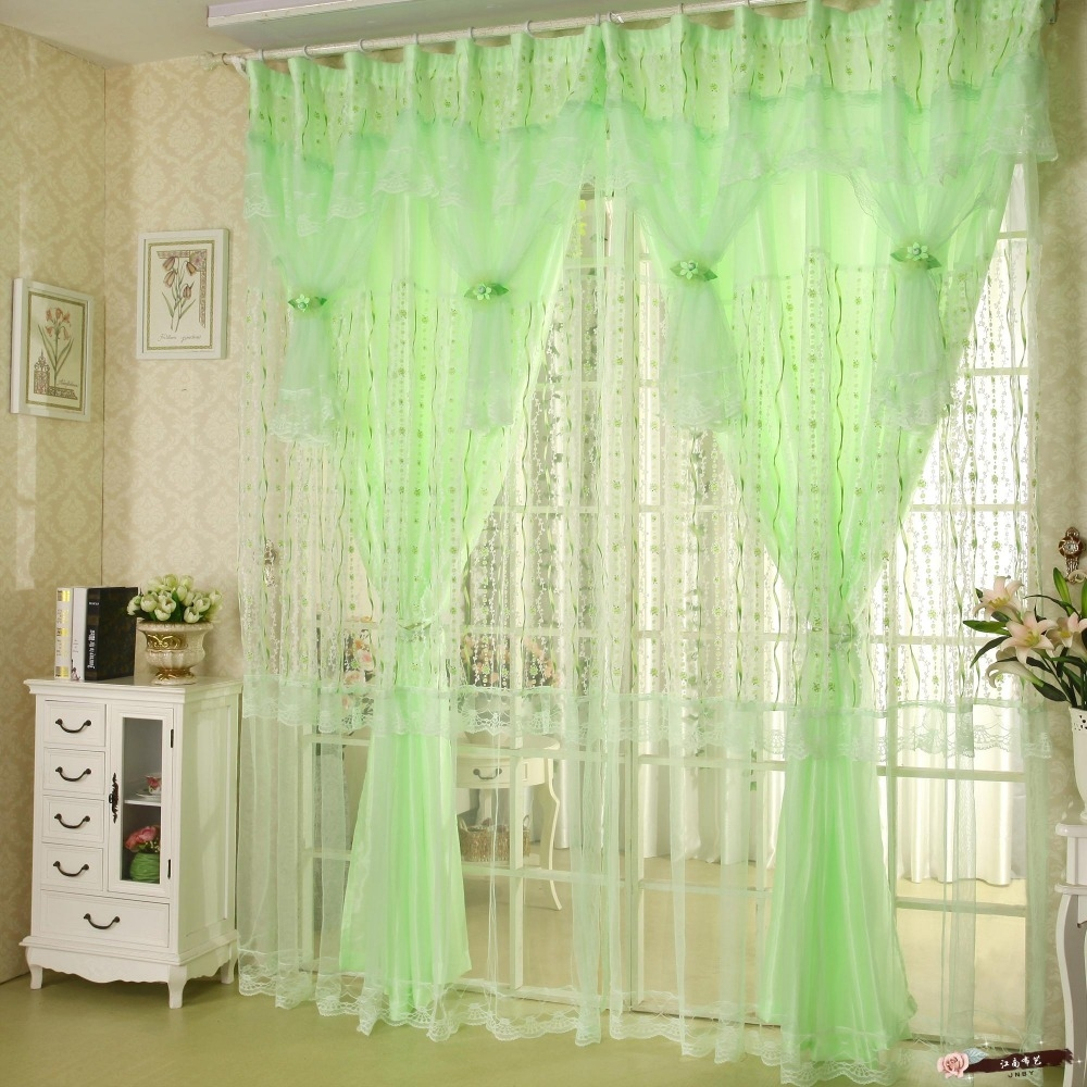 Online Get Cheap Window Curtain Set Aliexpress Alibaba Group Pertaining To Lace Curtain Sets (View 12 of 25)