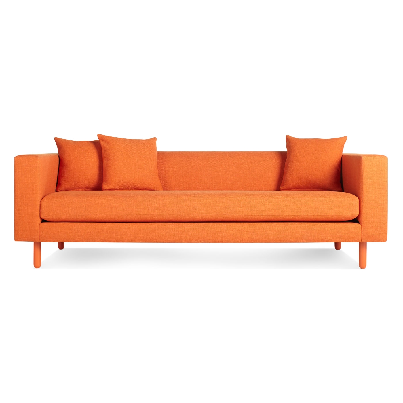 Orange Sofa Interior Design Cool Sofas Perfect Cool Orange Sofa Inside Orange Sofa Chairs (Image 13 of 15)