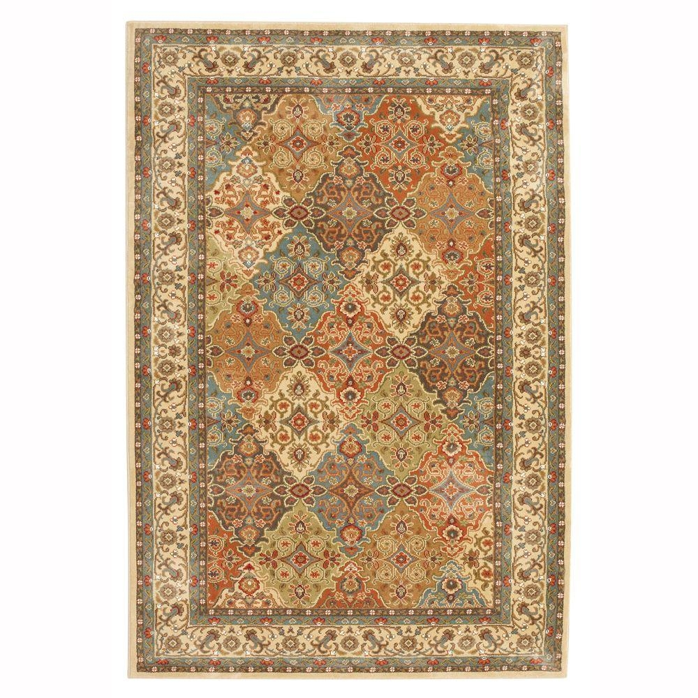 Oriental Area Rugs Rugs The Home Depot Throughout Persian Carpet Runners (View 7 of 15)