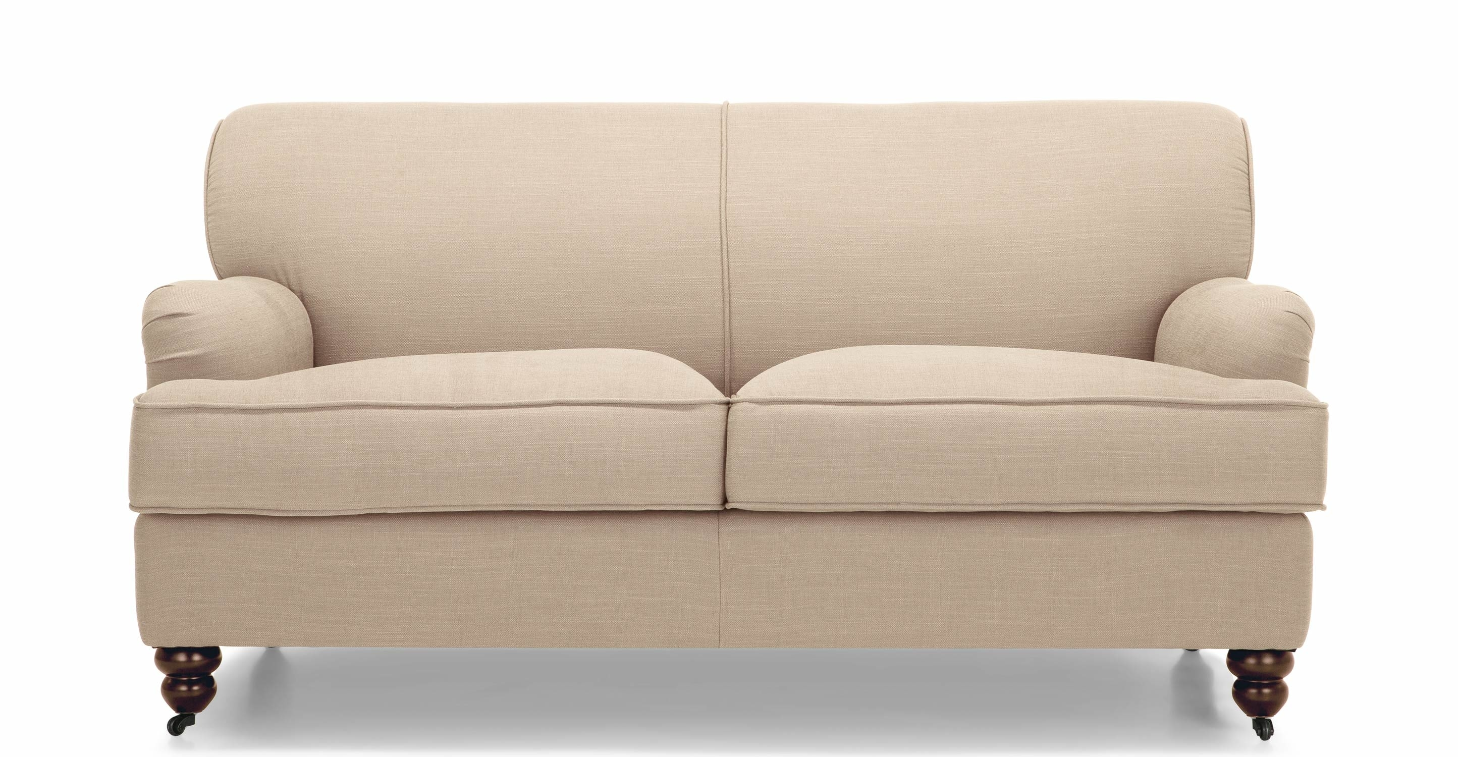 Orson 2 Seater Sofa Biscuit Beige Made Within 2 Seater Sofas (Image 12 of 15)