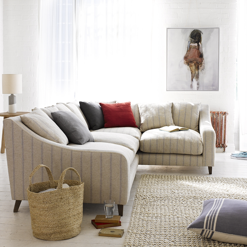 Oscar Corner Sofa Classic Corner Sofa Loaf Within Bespoke Large Corner Sofas (View 8 of 15)