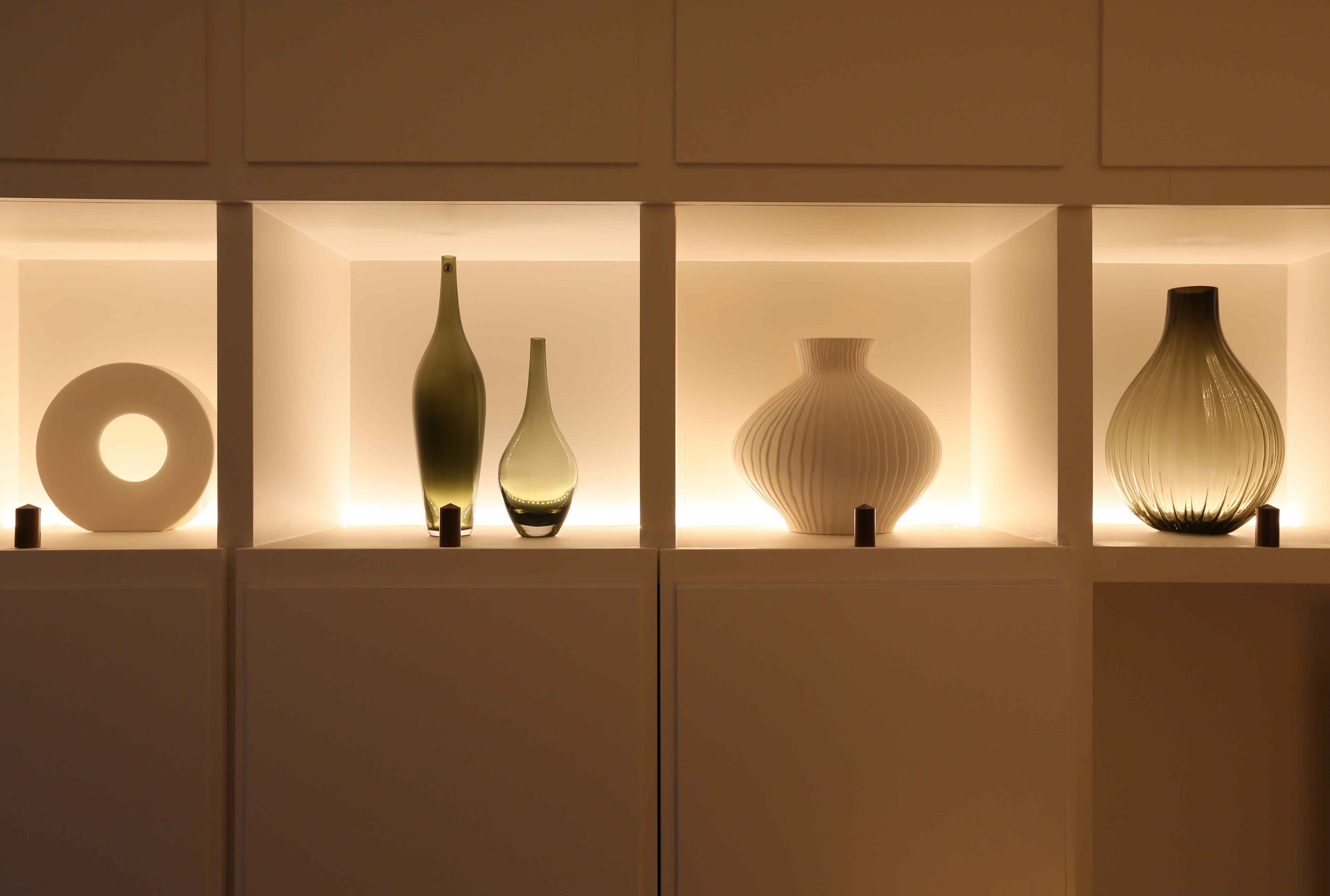 Our Top Shelf Lighting Tips Ideas And Products John Cullen Lighting Inside Glass Shelves With Lights (Image 10 of 15)