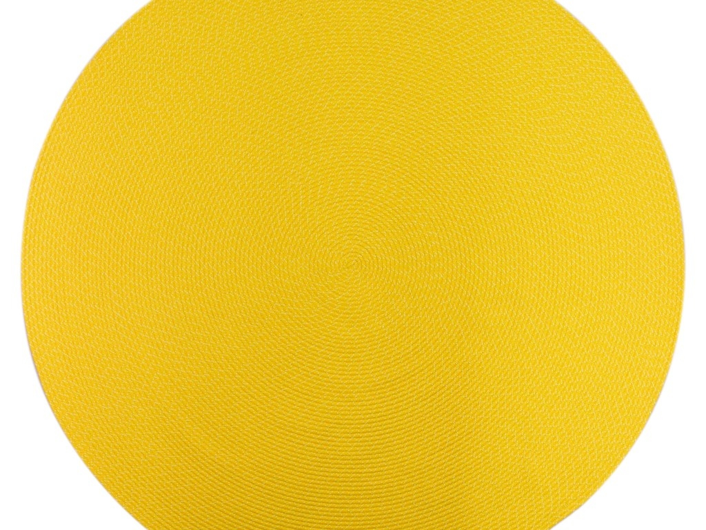 Outdoor Rug Indoor Outdoor Bright Lemon Yellow Round Custom Regarding Custom Size Outdoor Rugs (Image 14 of 15)