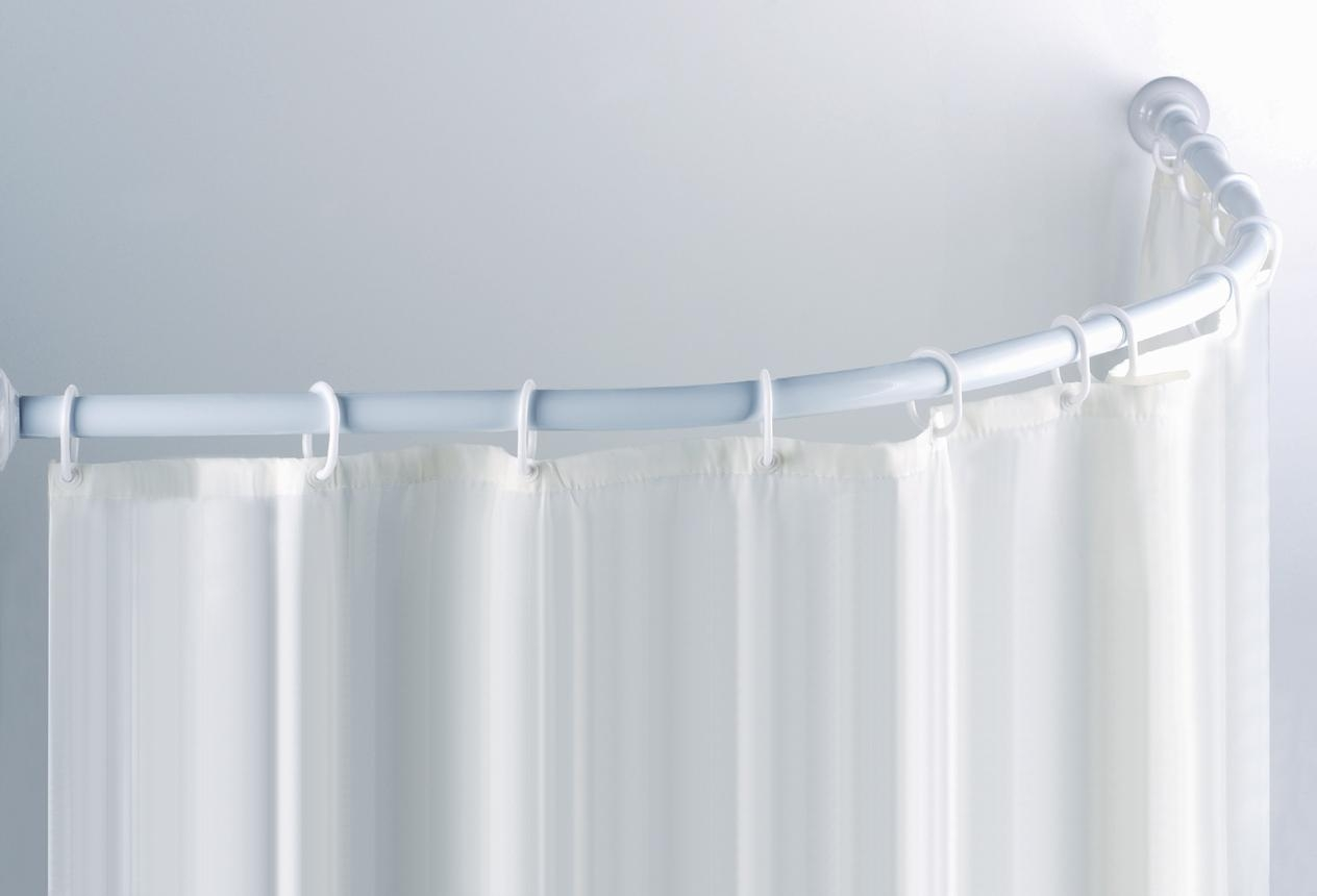 Oval Shower Curtain Rail Argos Curtain Menzilperde Within Shower Curtains Poles (Photo 9 of 25)