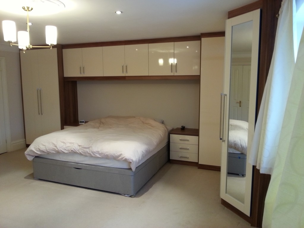 Overbed Fitted Wardrobes Bedroom Furniture Pertaining To Overbed Wardrobes (Image 17 of 25)