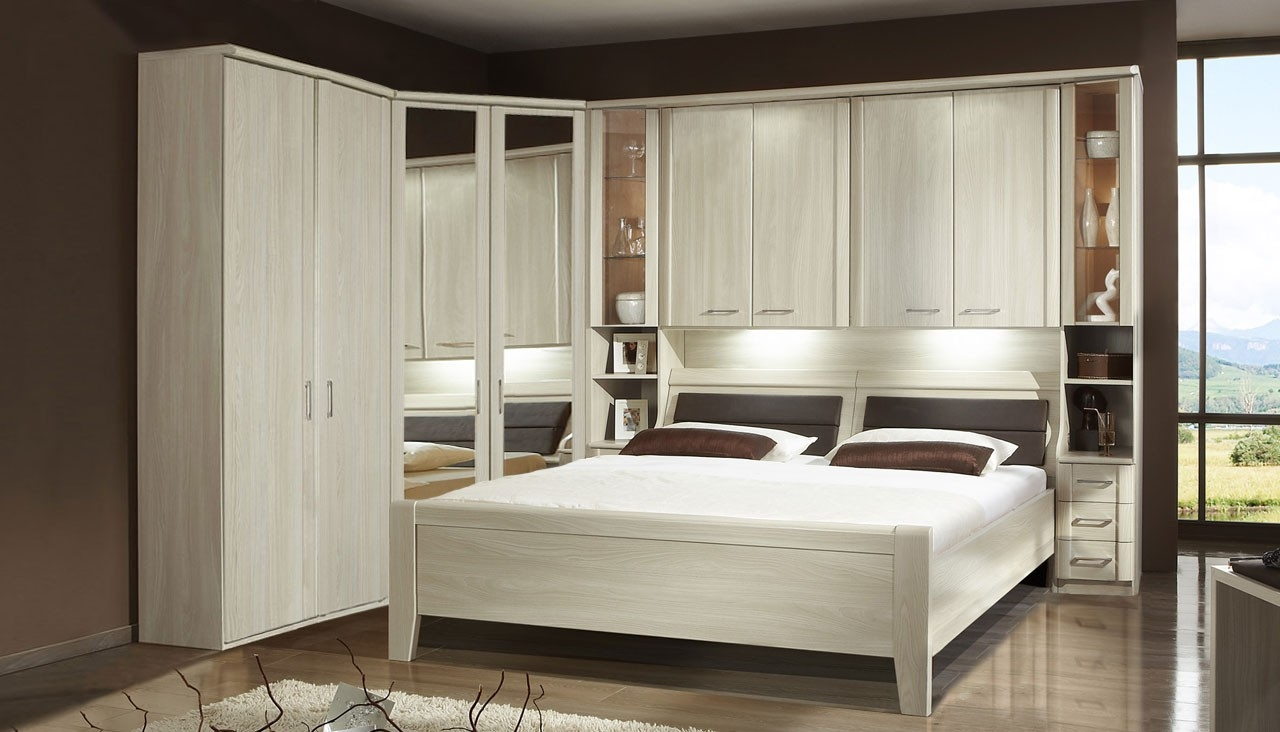 Overbed Package 3 From The Cairo Range Ahf Furniture In Overbed Wardrobes (Image 21 of 25)
