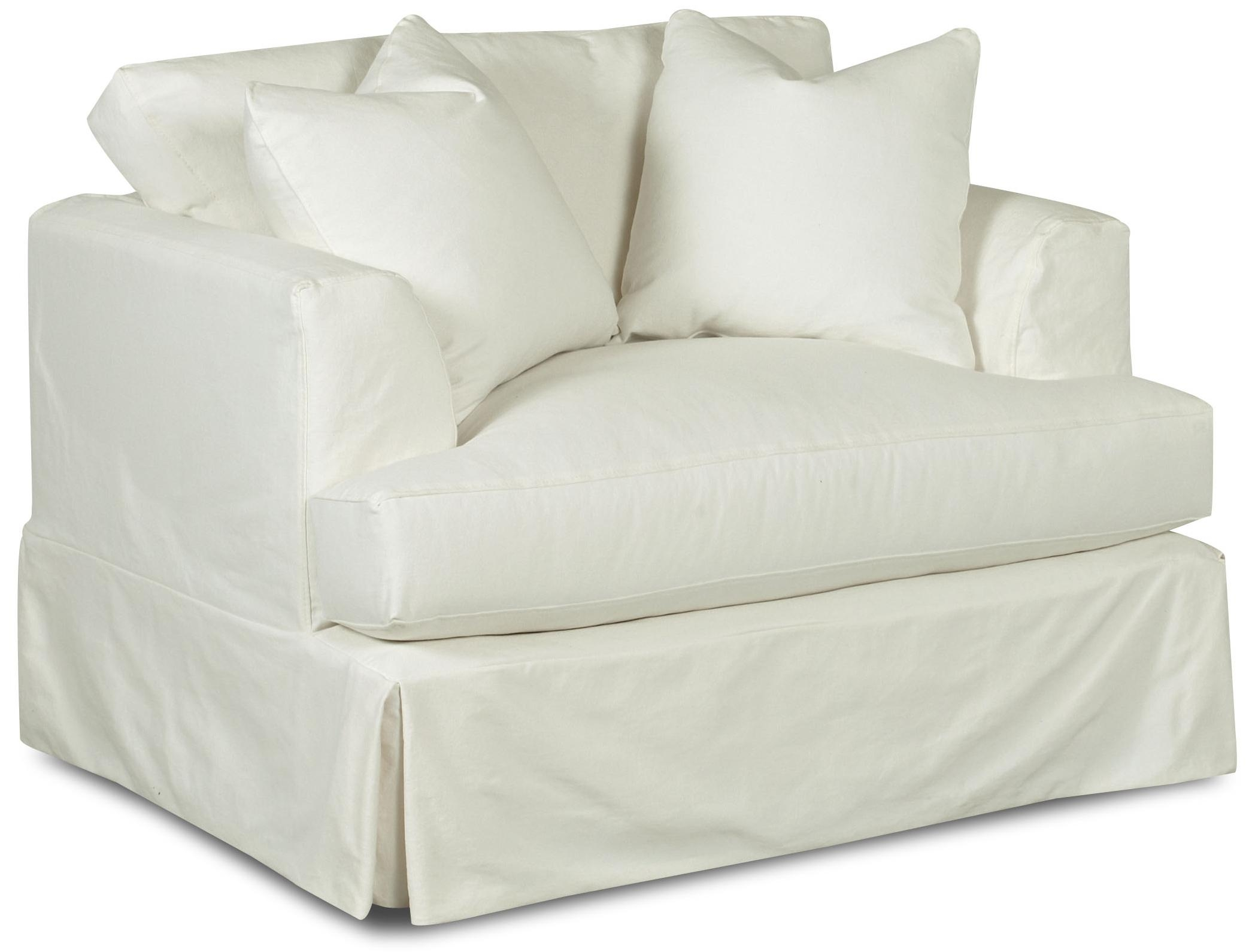 Oversized Chair Slipcovers T Cushion Home Chair Designs With Sofa And Chair Slipcovers (Image 7 of 15)
