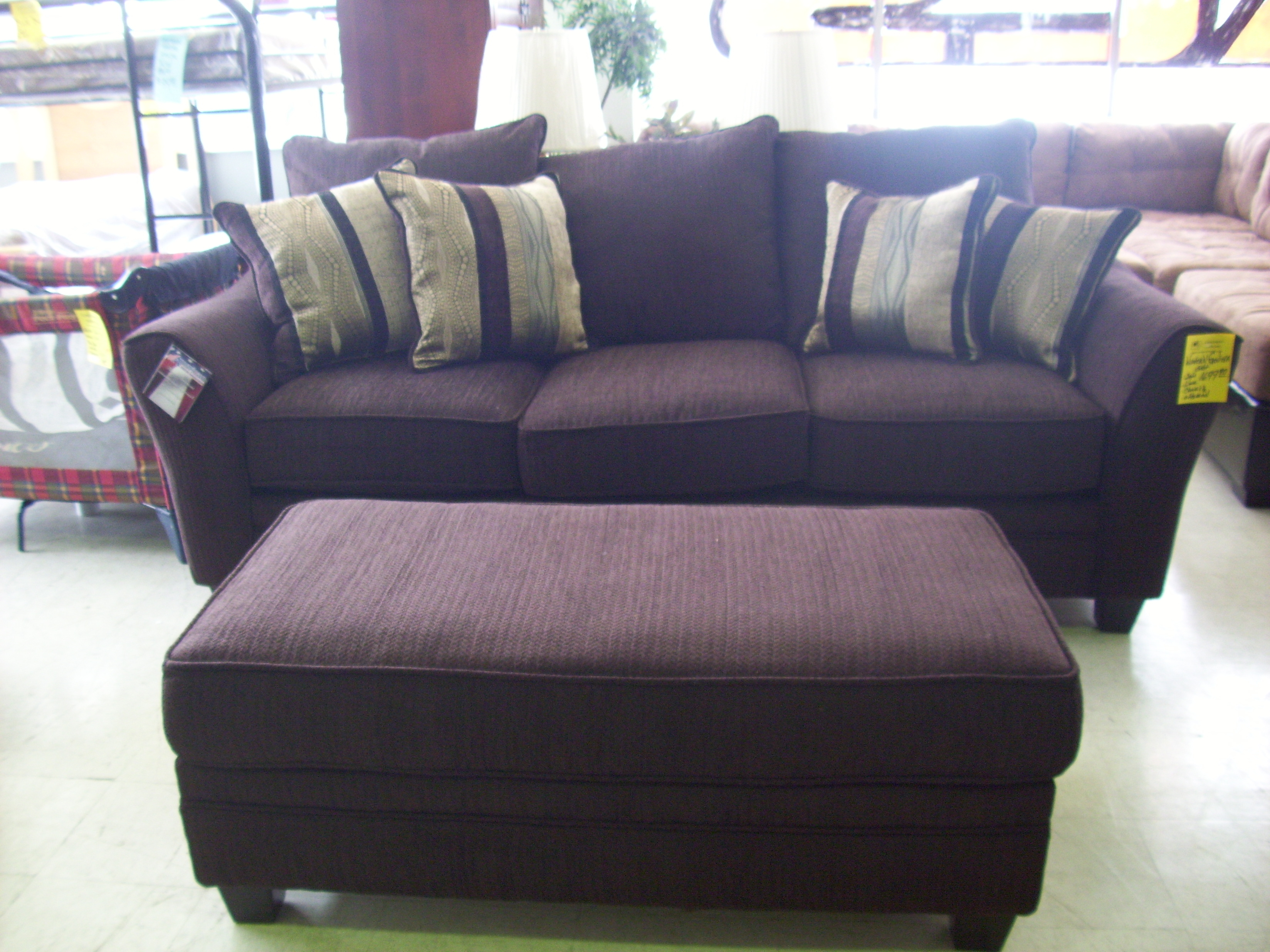 Oversized Grey Chair And Ottoman Home Chair Designs Intended For Large Sofa Chairs (Image 6 of 15)