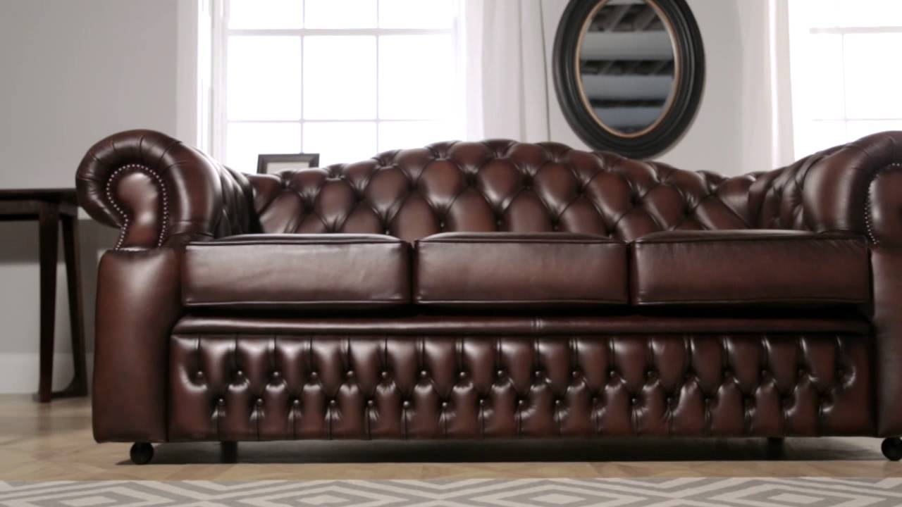 Oxford Chesterfield Sofa From Sofas Saxon Youtube Within Oxford Sofas (Image 6 of 15)