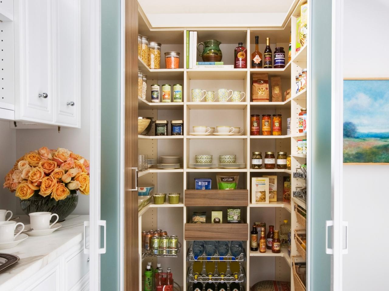 Pantry Cabinet Plans Pictures Ideas Tips From Hgtv Hgtv For Large Cupboard With Shelves (Image 21 of 25)