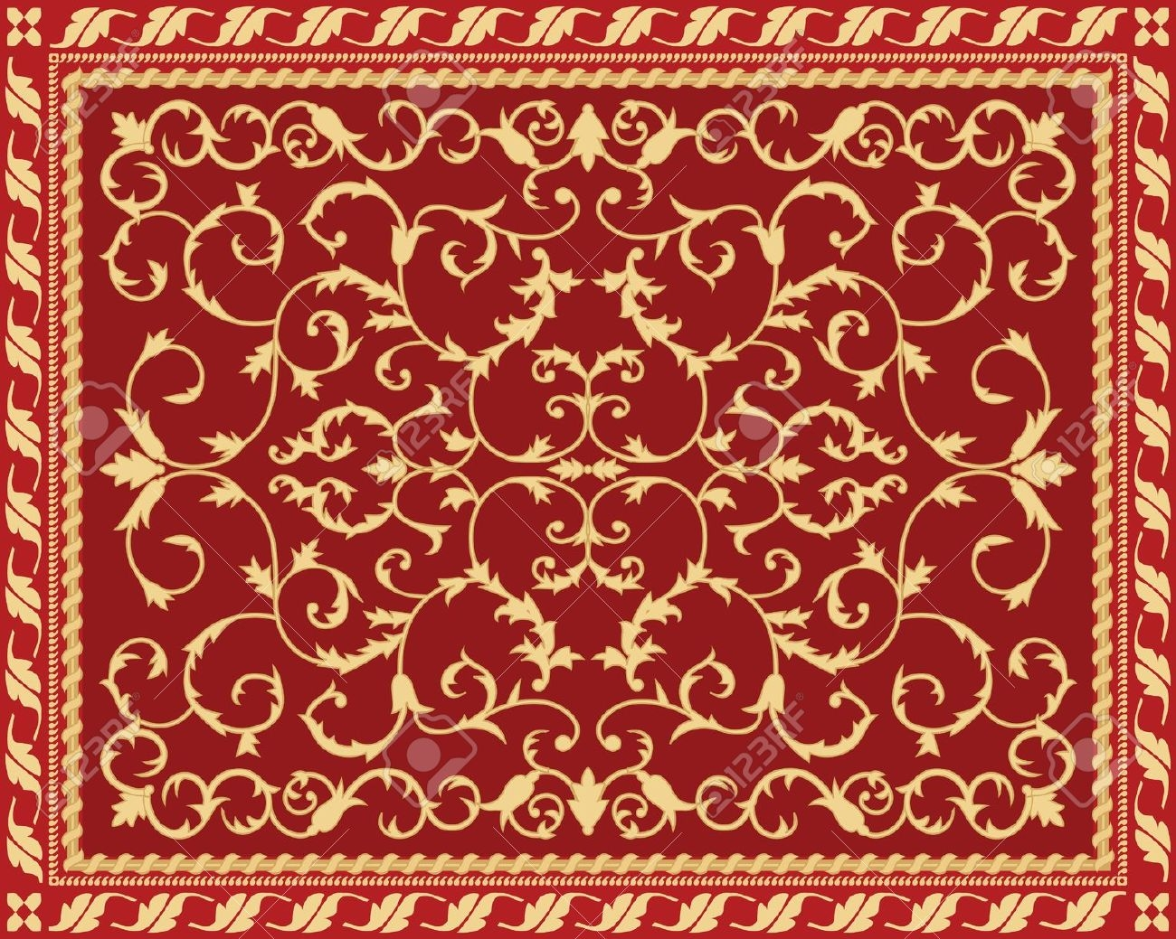 Past Time Carpet Royalty Free Cliparts Vectors And Stock Intended For Arabic Carpets (Image 9 of 15)