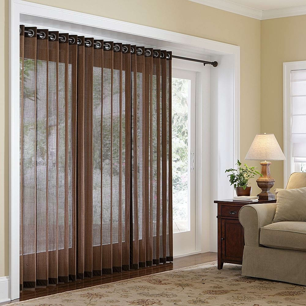 Patio Door Curtain Ideas Patio Ideas And Patio Design In Fabric Door Curtains (Image 23 of 25)