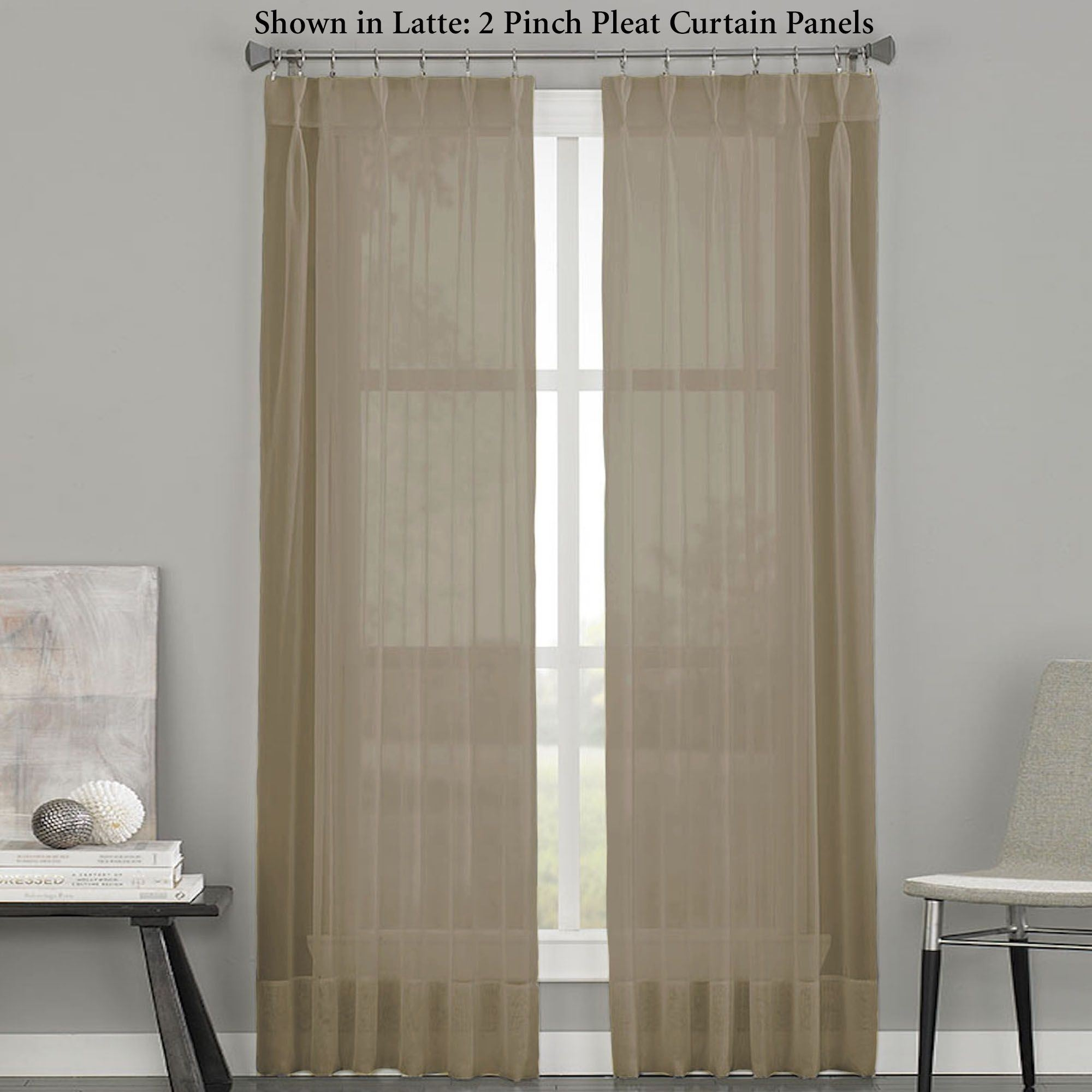 Patio Door Curtain Panels Touch Of Class Within 54 Inch Long Curtain Panels (View 24 of 25)