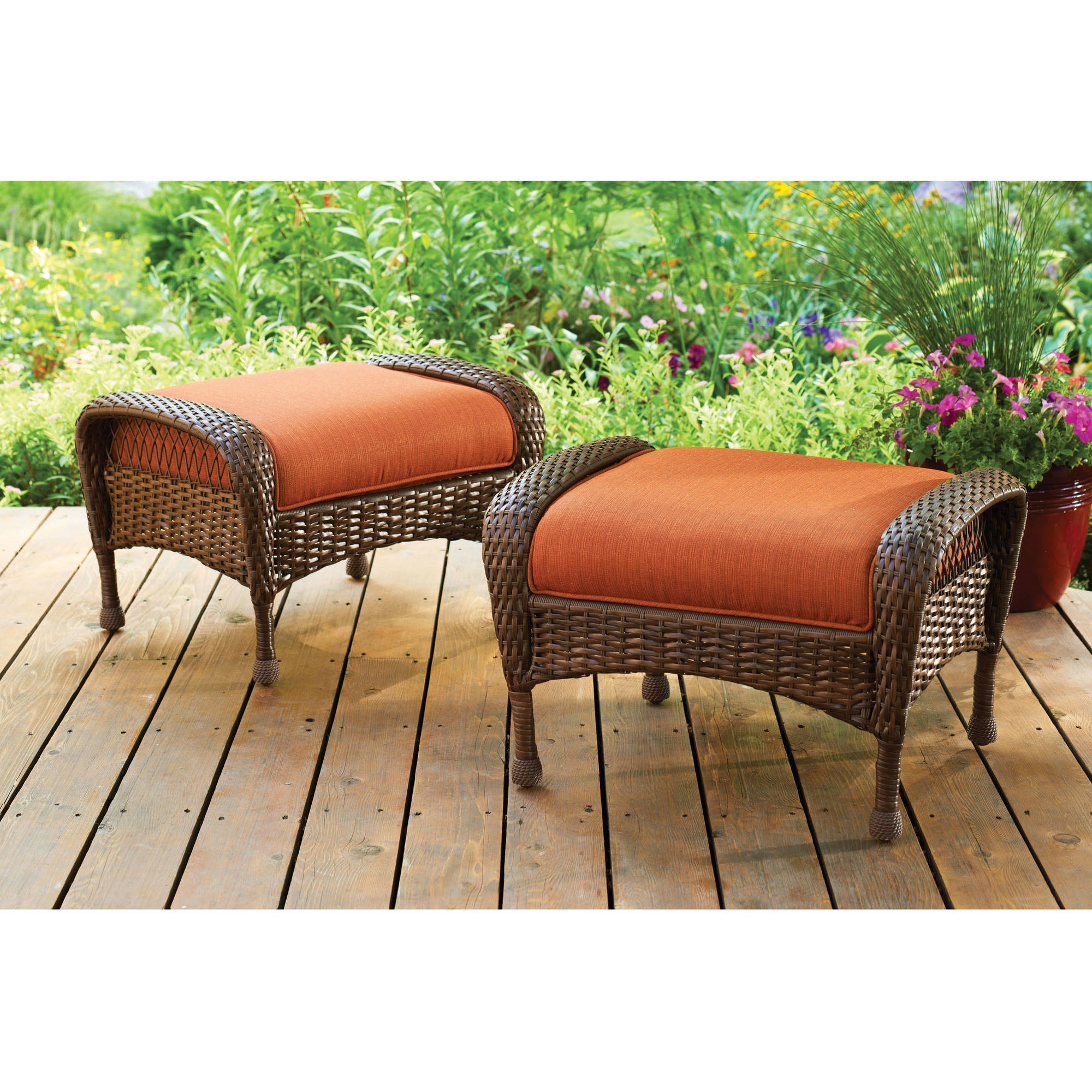Patio Furniture Walmart With Regard To Outdoor Sofa Chairs (Image 13 of 15)